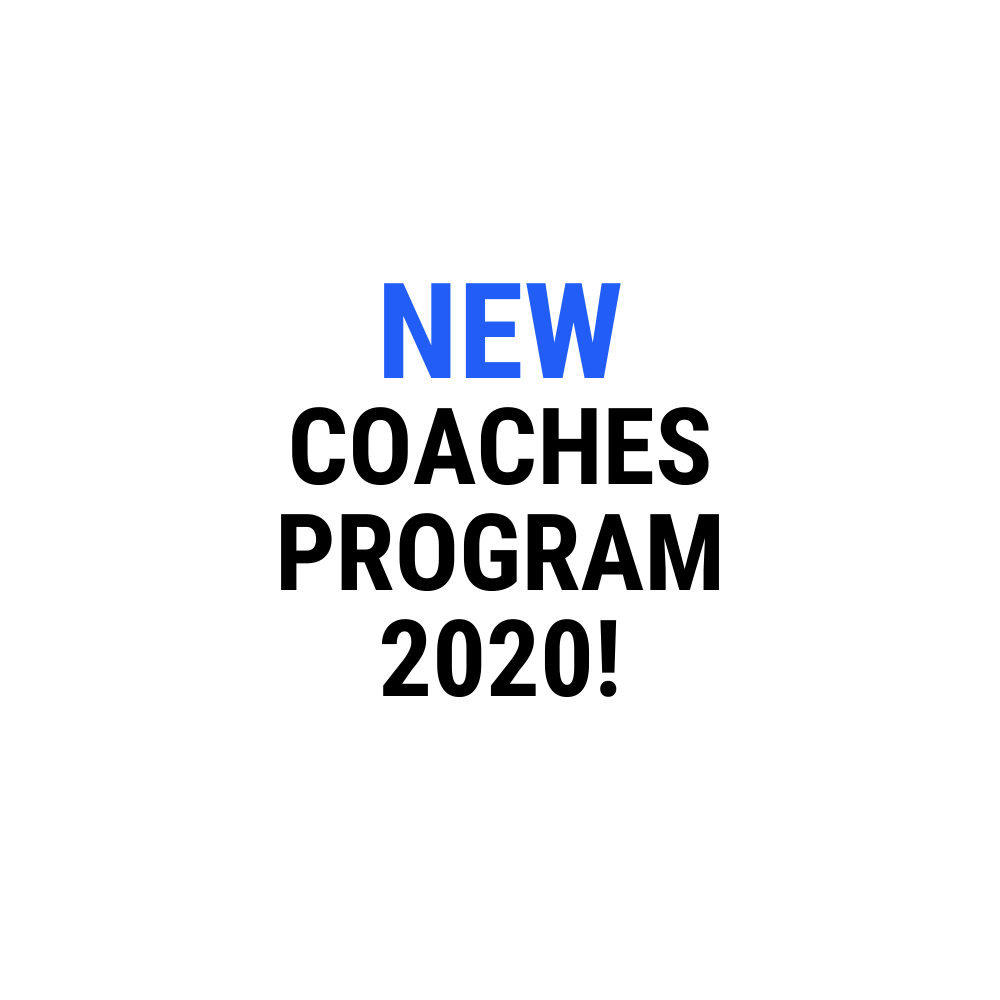 NEW COACHES PROGRAM 2020